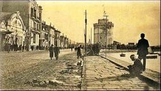 Eski fotoğraflarla #Selanik Old Pictures, Old Photos, Vintage Photos, Thessaloniki, Greek Music, Macedonia, Taj Mahal, Greece, Photo Galleries