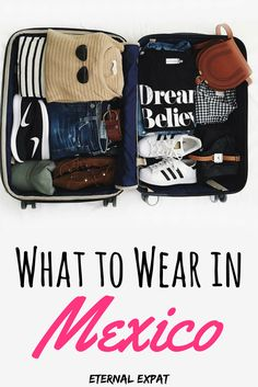 The ultimate packing list for mexico - what to wear in Mexico all year long whether you're visiting the beach, mountains, cities or small towns. I've got you covered!