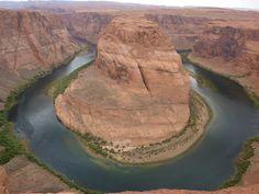 united states arizona square wave horseshoe horseshoe bend a