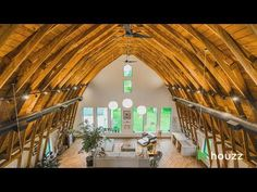 As a kid playing in the hayloft of his parents' dusty barn in Medina, Ohio, Andrew Towne never imagined that one day he would convert the space i. Country Barns, Old Barns, Rustic Luxe, Rustic Barn, Converted Barn Homes, Architecture Company, Barn House Plans, Barn Plans, Agricultural Buildings