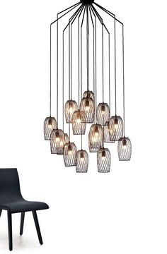 The Constellation Chandelier by Kenneth Cobonpue Is Beautifully Designed trendhunter.com