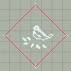 bird pattern. can add word peace for christmas