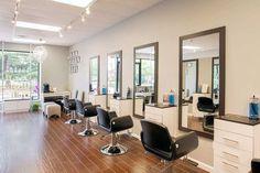 LB Beauty Custom Styling Stations by Salon Interiors
