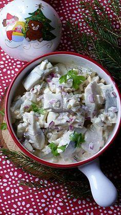 Xmas Food, Christmas Cooking, Seafood Salad, Fish And Seafood, Fish Dishes, Seafood Dishes, Cooking Time, Cooking Recipes, Polish Recipes