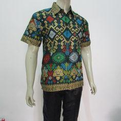 Jual batik pria modern model hem lengan pendek terbaru harga murah di solo…