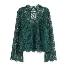 H&M Lace Blouse, $40