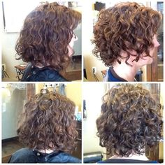 Wendy Wolfe Curl Specialist in Austin - Before and after Dry Curl cut and style