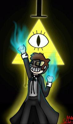 *my Gravity falls fanart :) Bill Cipher ^^