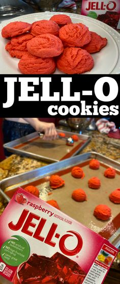 My kids LOVE these cookies! So easy to make - so great for those who are just learning to bake - these cookies are colorful and tasty too! See our post to learn how to make Jello cookies and these will be a fun addition to your colorful food or treat table at a party, and these cookies are always a hit at bake sales! Jello Cookies, Oreo Cupcakes, Oatmeal Bars, Oatmeal Cookies, Sweet Desserts, Delicious Desserts, How To Make Jello, Colorful Food, Amazing Recipes