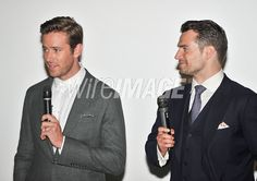 Cast members Armie Hammer and...