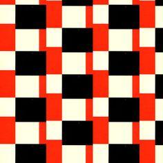 geometric : Stoflab - van reyn red