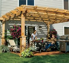 Home Carpentry, DIY Landscaping & Garden, Home Remodeling Projects - How to Build a Pergola