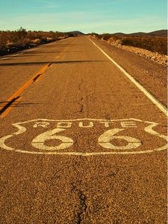 On the bucket list: making an awesome roadtrip through the USA, and drive along Route 66!