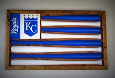 10% OFF Kansas City Royals Baseball Bat Flag by ChicoLumberCompany