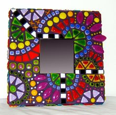 157 Best Mosaic Frames Images Mosaic Mirrors Do Crafts Mirror Mosaic