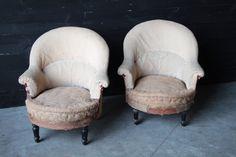Pair Napoleon III Armchairs