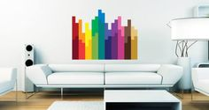 Edgy and cool, with our pixel blocks wall decal your space will go from drab to fab in minutes!
