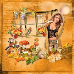 Super Tag d'automne 7 Creations, Photoshop, Princess Zelda, Painting, Fictional Characters, Art, Animation, Fall Season, Art Background