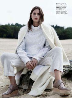 White knits & Stella shoes got to love it <3