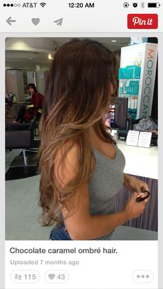 Color ombre blond, ombre hair color for brunettes, black to brown ombre hair , Ombre Hair Color For Brunettes, Brunette Color, Brunette Hair, Caramel Ombre Hair, Blond Ombre, Black To Brown Ombre Hair, Chocolate Ombre Hair, Dark Ombre, Caramel Balayage