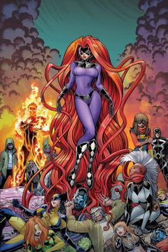 Medusa has beaten the X-Men..? Well, the Inhumans have.... I like Medusa but I bet the xmen will kick her ass after this.