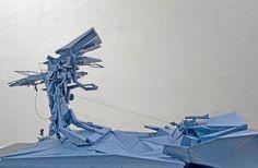 Mobile Gatherspace. Dirty Geometries + Mechanical Imperfections, Bryan Cantley. Imagen © Bryan Cantley. Fotografía © Matt Gush. Señala encima de la imagen para verla más grande.