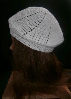 baret met patroon