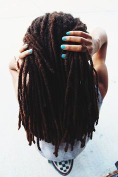 Melissa // 4C Natural Hair Style Icon | Black Girl with Long Hair