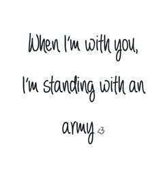 You understand like no-one can.  Army - Ellie Goulding lyrics