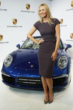 Maria Sharapova, Porsche's new ambassador.