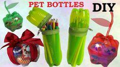 Hromadí se vám doma plastové láhve od minerálních vod či jiných nápojů? Využijte jich a vyzkoušejte si z nich vyrobit bytovou dekoraci,