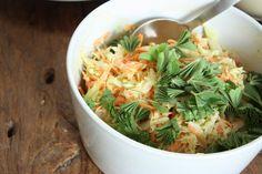 herkku ja koukku: Coleslaw (kesän paras salaatti)