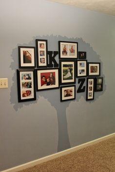 Raising Creative Hearts: Family Tree Photo Gallery