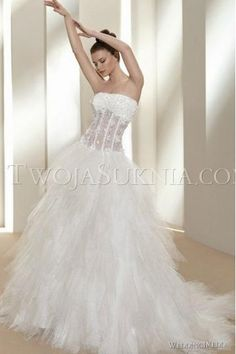 Modest Sweetheart with Fur and Beading Chapel Train Princess Wedding Dresses
