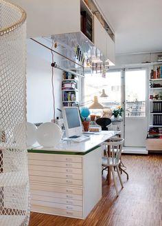 Office inspiration via La maison d'Anna G.: Bureaux
