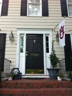 What Color Should I Paint My Front Door purple front door- not in this color, but i love the door! | door