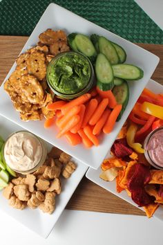 Three different savory and sweet dips for the kids to enjoy as a snack or side. Healthy Appetizers, Appetizers For Party, Appetizer Recipes, Agaves, Easy Party Food, Meal Planning, Easy Meals, Healthy Eating, Cooking Recipes