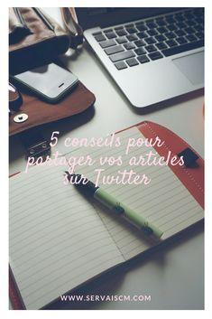 5 conseils pour partager vos articles sur Twitter Twitter, Blackberry, Articles, Phone, Social Media, Advice, Blackberries, Telephone, Mobile Phones
