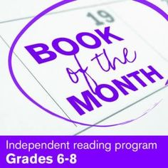 $- A cheap, easy routine for monthly independent reading! Use logs and calendars (instead of book reports) to record reactions and keep the focus on differentiating texts; can be assessed alone or in a reading portfolio! (CCSS Grades 6-8)