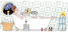 Il Lettore Forte medita da sempre di installare una mensola per i libri in bagno.