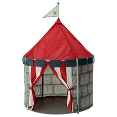 BEBOELIG Children's tent Cute little play castle for knights and princesses