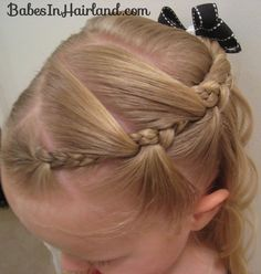 crazy braid for girls hair  This blog has a lot of great ideas AND tips! (i heart tips...i learned I need lots of practice :))