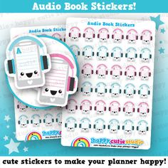 36 Cute Audio by HappyCutieStudio on Etsy