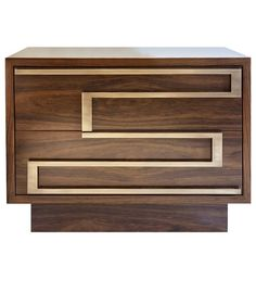"""Handmade nightstand model """"Ascens"""" designed by Two Is Company"""