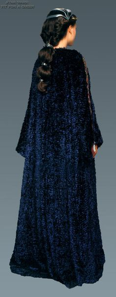Star Wars Padme Dressing Robe - Back view