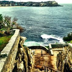 Better down than up x nz #bonditobronte (at Bondi - Tamarama Coastal Walk)