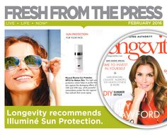 Longevity recommends Placecol Illuminé Sun Protection SPF25 for your face. #FreshFromThePress #FreshSkin Sun Protection, Cellulite, Hair Removal, How To Remove, Fresh, Face, Beauty, Epilating