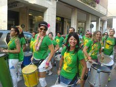 Mao Branca street band Carnevale Rosa 2014, Rimini