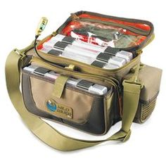 Wild River Tackle Tek Mission Lighted Tackle Bag 4 Trays H552-435058