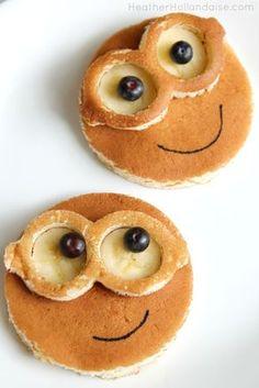 FunBites Minion Banana Pancakes